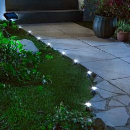 """Solar-Gartenlichter """"Cono"""", 10-teilig"""