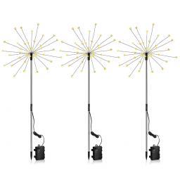 """LED-Gartenstecker """"Estrella"""", 3er-Set"""