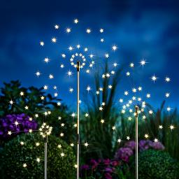 "LED-Gartenstecker ""Estrella"", 3er-Set"
