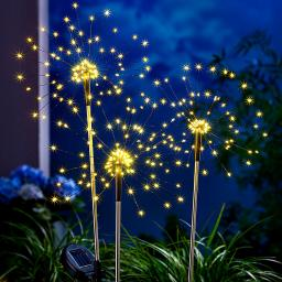 "Solar-Gartenstecker ""Twinkle"", 3er-Set"