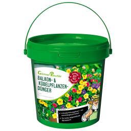 Balkon- und Kübelpflanzen-Dünger, 1 kg