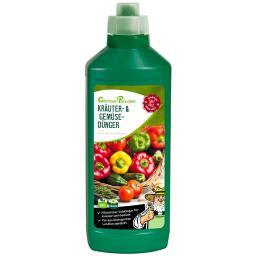 Kräuter- und Gemüse-Dünger flüssig, 1 l