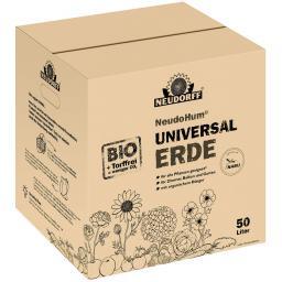 NeudoHum® torffreie Universalerde im Karton, 50 Liter