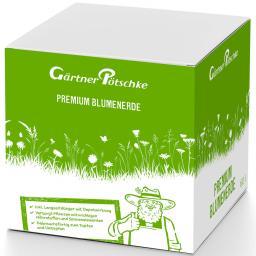 Premium Blumenerde im Karton, 60 Liter