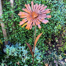 Gartenstecker Sonnenschein, Edelrost