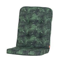 Gartenstuhl-Auflage Tarent, grüne Palme