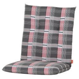 Sessel-Auflage Gabi, karo rosa