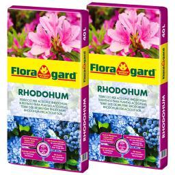 Rhodohum Moorbeetpflanzenerde, 80 Liter