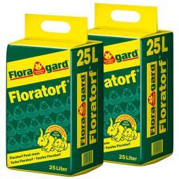 Floratorf, 2 Säcke á 25 Liter