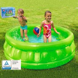 Mini-Pool, 175x175x35cm, grün