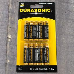 Alkaline Batterie AAA MICRO LR 03, 1,5 V, 10 Stück