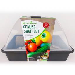 Anzucht Starter-KIT, 24-teilig, Gemüse, 29x19x19 cm