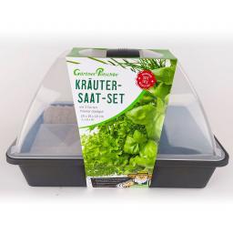 Anzucht Starter-KIT, 24-teilig, Kräuter, 29x19x19 cm