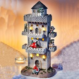 Drachenturm Setzkasten mit Beleuchtung