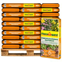 Großgebinde Mediterrane Kübelpflanzenerde, 30 Sack á 40 Liter