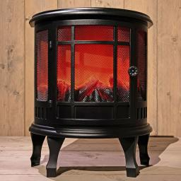 Kamin-Ofen elektrisch, 46 cm x 23,5 cm x 56