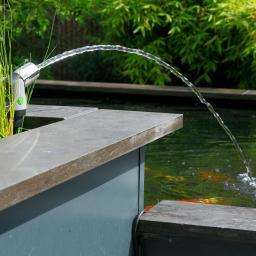 Springbrunnen leuchtender Wasserstrahl Set