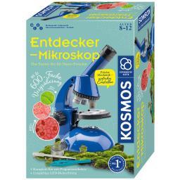 Entdecker-Mikroskop, mint, Experimentierkasten