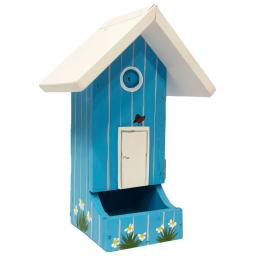Vogelhaus Schweden, blau