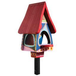 Vogelhaus mit Silo Gute Laune