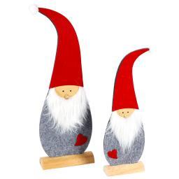 Deko-Weihnachtsmann, 2er-Set