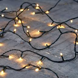 Premium LED-Lichterkette, 120 LEDs, 12 m