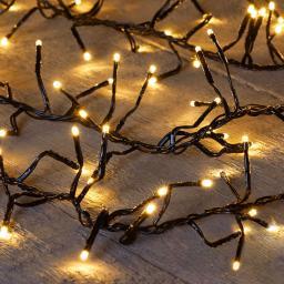 Weihnachtsbaum Lichterkette, 576 LEDs, 7.5 m