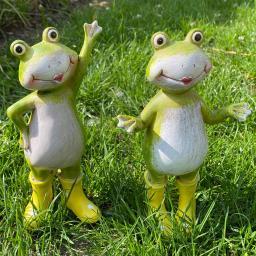 Frosch Fredo mit gelben Gummistiefeln, 2-fach sortiert