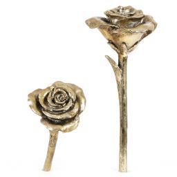 Deko-Rose, 33x10,5x10,5, gold