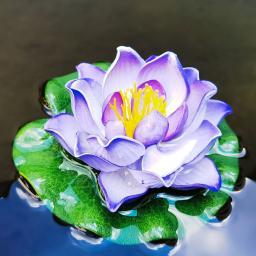 Deko-Seerose Lotus, violett