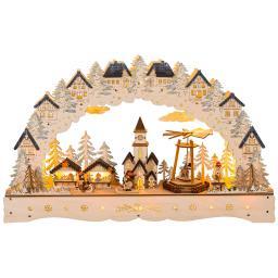 """LED-Lichterbogen """"Weihnachtsmarkt"""", 58 cm"""