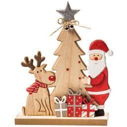"""Holzdekoration """"Weihnachtsfreude"""""""