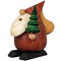 """Räucherfigur  """"Weihnachtsmann mit Baum"""""""