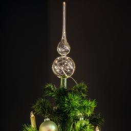 Lumix Christbaumspitze Klar, Glas
