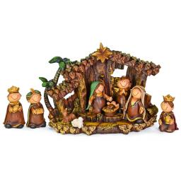 Kinder-Krippen Set mit Figuren