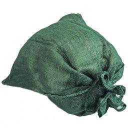 Jutesack, grün, 60x80 cm