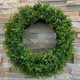 Kunstpflanze Grünkranz, 30 cm