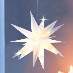 LED-Stern Xmas 12 cm, Weiß