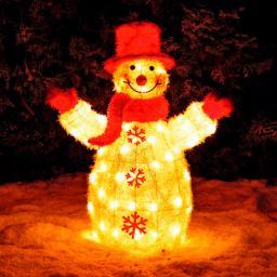 LED-Leucht-Schneemann Lighty