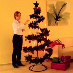 Weihnachtsbaum Kerzenglanz, groß