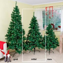 LED-Weihnachtsbaum Merry Christmas, mittel