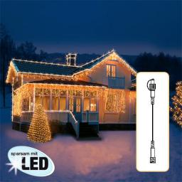 LED Lichtsystem Verlängerungskabel, 500 cm, schwarz