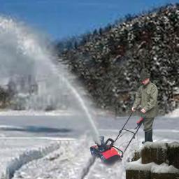 Schneefräse 1600 Watt