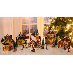 Weihnachtsdorf, 17-teilig