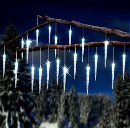Solar-LED-Lichterkette Eiszauber