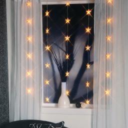 LED-Lichtervorhang Himmelsterne, 30 LEDs