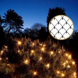 LED-Außenlichternetz, 320 LEDs