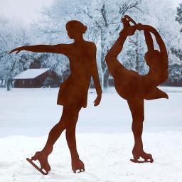 Beetstecker Eiskunstläuferinnen Amanda & Stella