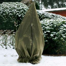 Winterschutzhülle, 200 cm, Polypropylen, olivgrün