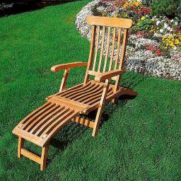 TEAK Captain's Chair